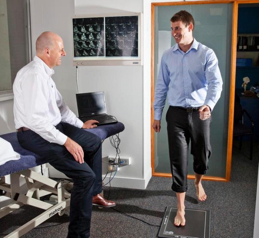 Gaitscan Assessment Brisbane City With All Care Physiotherapy